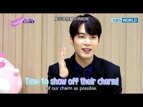 Idol Weekly Interview with NU'EST W [KBS World Idol Show K-rush2 / 2017.10.27]