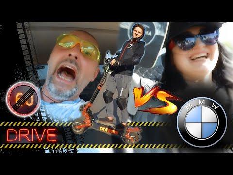 BMW E36 против LDX GT-R (электросамоката) | Гонка за Red Bull