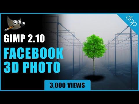 Facebook 3D Photo Tutorial - Gimp 2.10 thumbnail