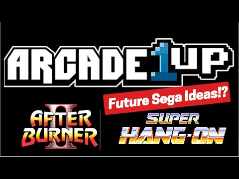 Arcade1Up Possible Sega Cabinets | Outrun | Afterburner and More! from Basic Reviews by David