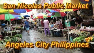 San  Nicolas Public Market : Angeles City Philippines