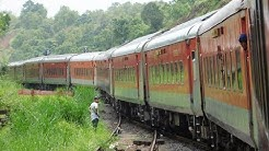 GOA To MUMBAI : Full Journey : 22413 GOA Rajdhani Express : Indian Railways