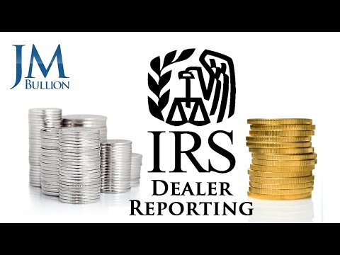 Silver & Gold IRS Dealer Reporting Facts ➤ JMBullion.com