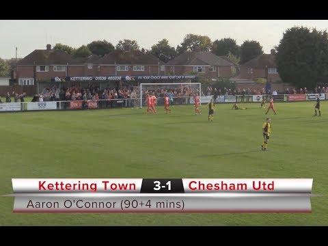 KTFC v Chesham Utd - highlights - 23/09/2017