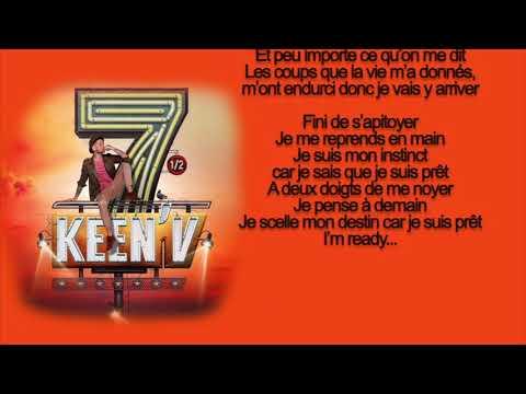 keen'v - Je suis pret (video lyrics officielle)
