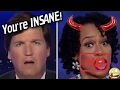 RACIST TRIGGERED Social Justice Warrior vs Tucker Carlson INSANE Interview BLM Supporter! SJW  #HEC