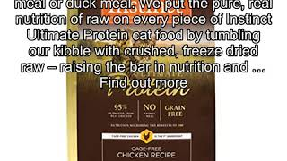 Instinct Ultimate Protein Grain Free Cage Free Chicken Recipe Natural Dry Cat Food by Nature's Vari