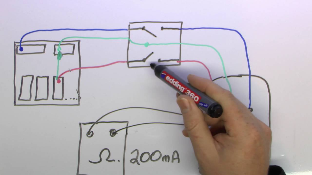 one way switch wiring diagram uk guitar diagrams 1 humbucker single coil continuity testing for electrical installations youtube