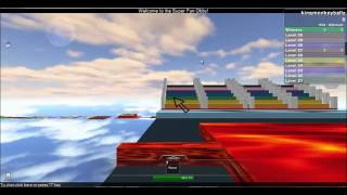 Roblox parkour with ian