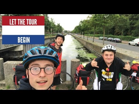 DAY 1- Cycling From Colchester To The Hague, Netherlands