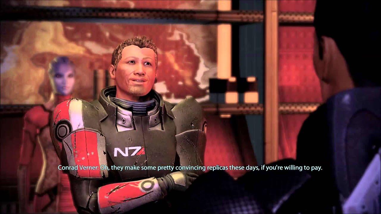 Mass Effect 2: Conrad Verner Gone Badass (renegade)