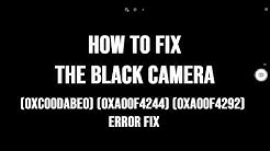 How to FIX Camera Black Screen on Windows 10 Problem