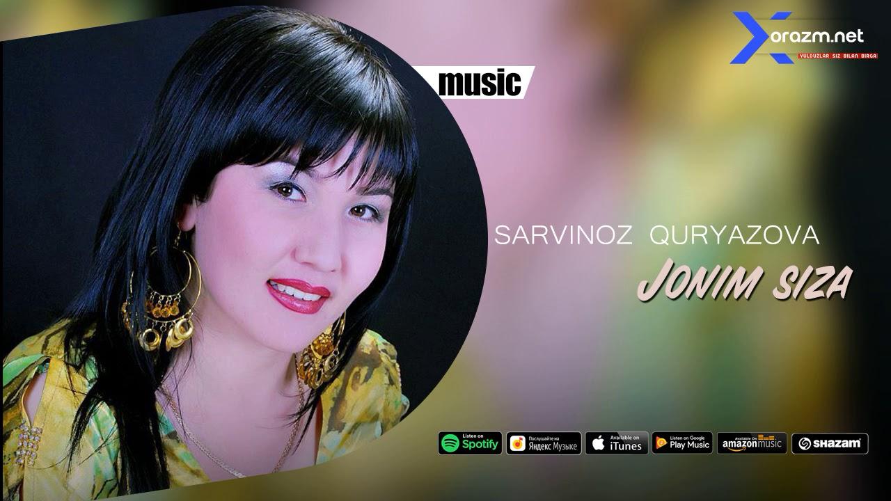Sarvinoz Quryazova - Jonim siza | Сарвиноз Курязова - Жоним сиза (music version)