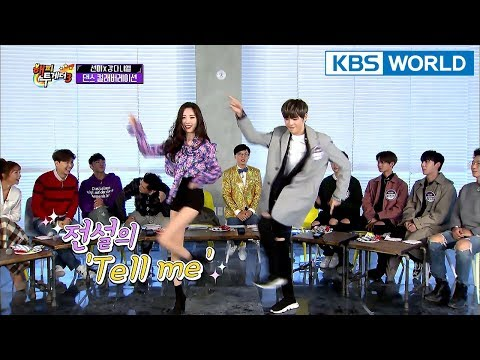 Sunmi X Daniel : 'Gashina & Tell Me' Collab Performance [Happy Together/2018.01.18]