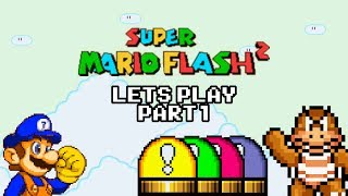 Super Mario Flash 2 Let's Play - Part 1: Levels, Switch Palaces and Boom-Boom Battles