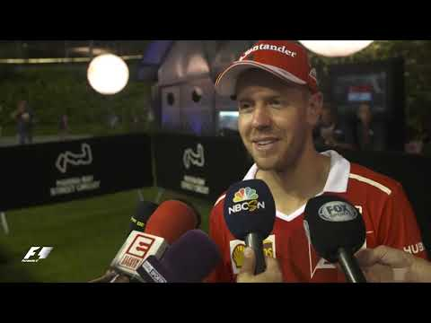 Interview with Vette after qualifying - Singapore GP 2017