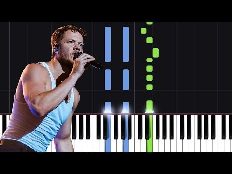 """Imagine Dragons - """"Natural"""" Piano Tutorial - Chords - How To Play - Cover"""