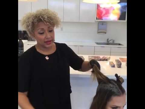 TIGI Educator Samantha Finley Demo
