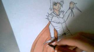 How to draw a manga warrior