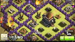 CLASH OF CLANS ntinos attack on austin 3 stars amazing attack