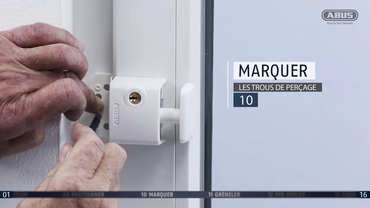 Instructions De Montage Abus Protection De Fenêtre Supplémentaire Fts3003
