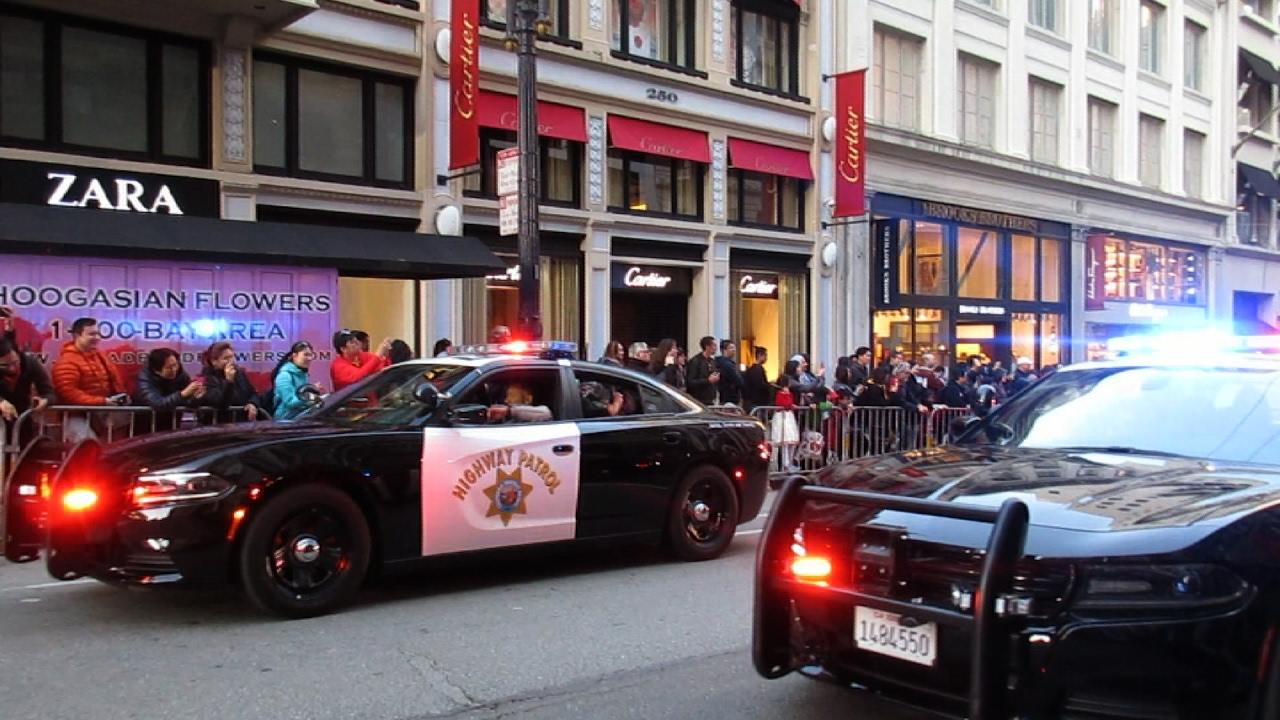 San Francisco Chinese New Year Parade 2017 California