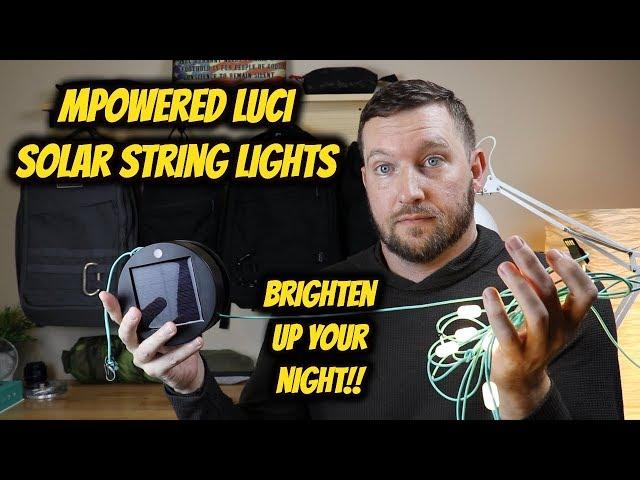 MPOWERD Luci String Lights