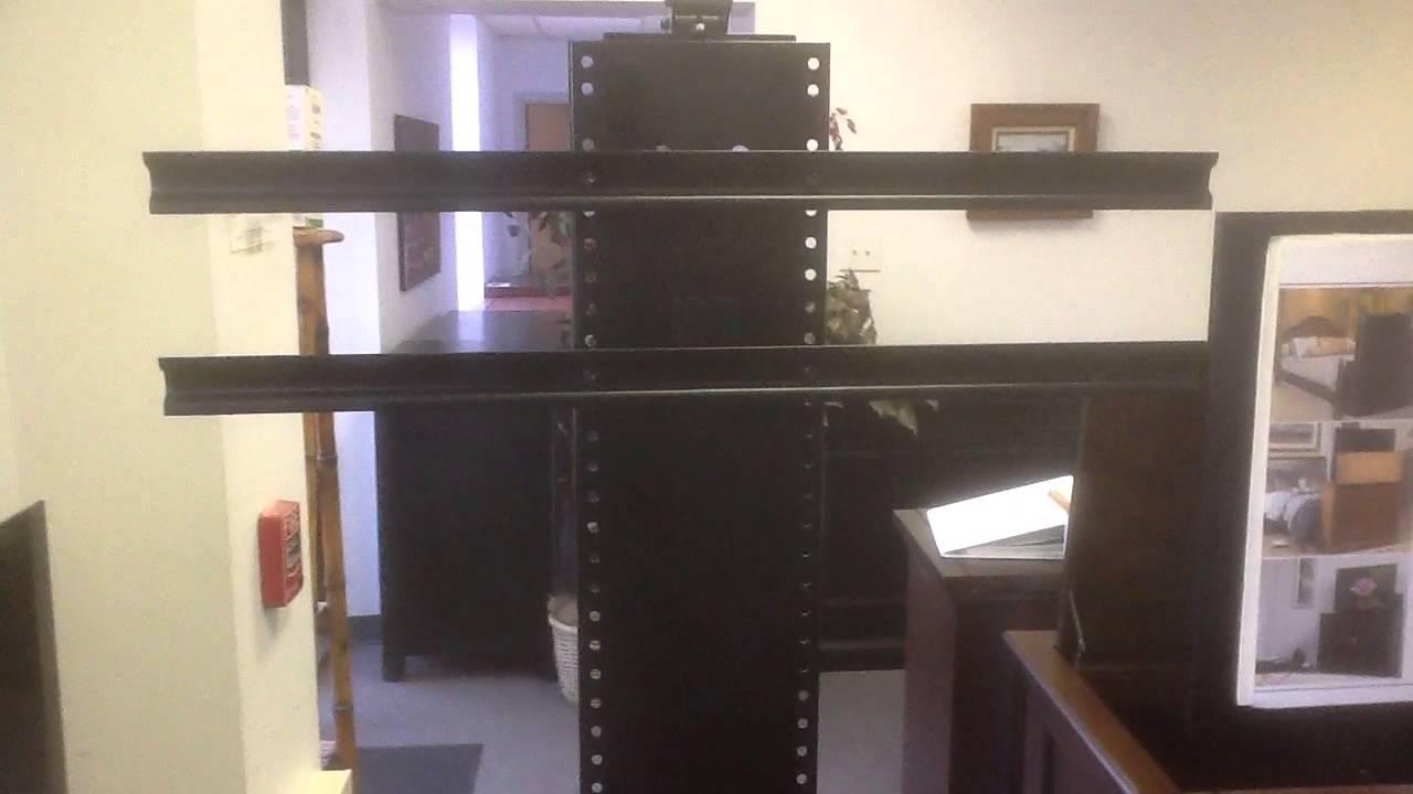 whisperlift ii flat screen tv lift mechanism