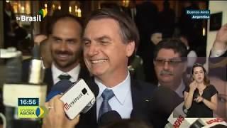 Bolsonaro discute parceria entre o Mercosul e a União Européia, na Argentina
