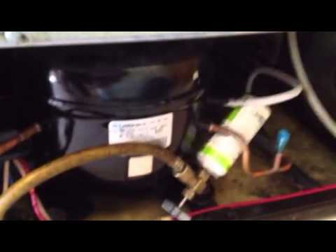 Add freon to refrigerator