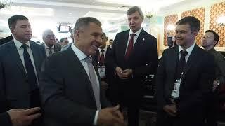 Рустам Минниханов посетил выставку ITSF