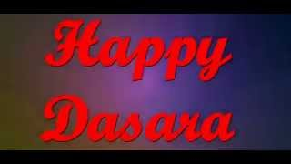 Video Greeting Card - Dasara Greetings for Everyone