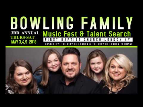 2018 BOWLING FAMILY MUSIC FEST & TALENT SEARCH