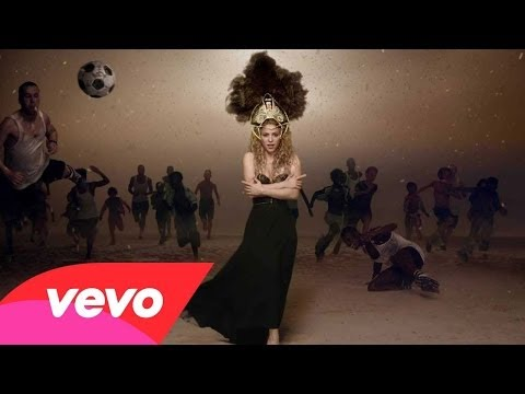"Shakira - La La La ""Lyrics"" Dare (The Official 2014 FIFA World Cup™ Song)"