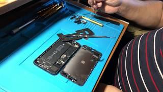 Замена стекла iPhone 7. Почему после замены модуля или стекла глючит сенсор на iPhone 7 ?