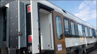 Stadler Sleeping Coach 2016 In detail review walkaround Interior Exterior