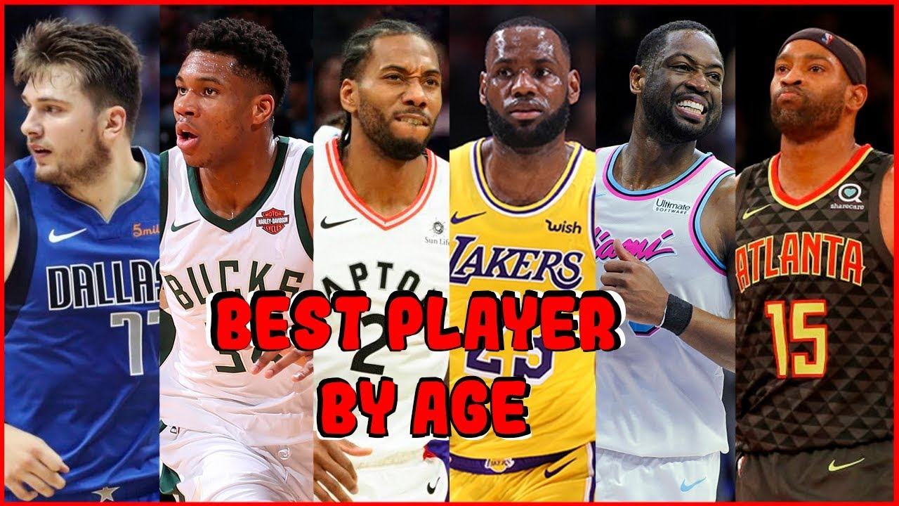 NBA 2018-2019 Season Best Player By Age - YouTube