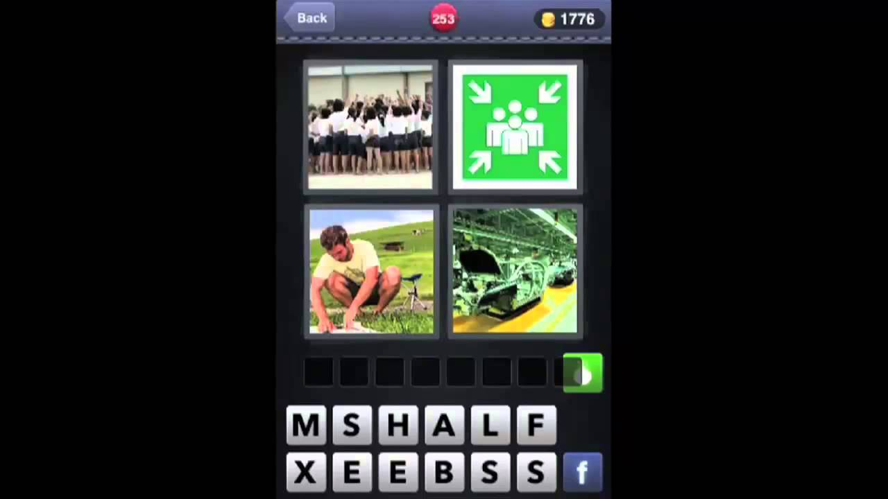 word 4 Cheats and tips for 4 pics 1 word on iphone, ipad and android.