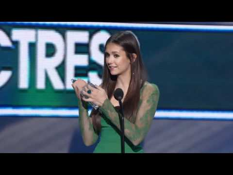 The People's Choice for Favorite TV Drama Actress is Nina Dobrev (HD)