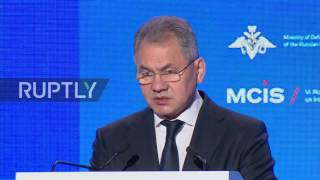 Russia  US airstrike on Shayrat airbase threatens the 'lives of our military' – Shoigu