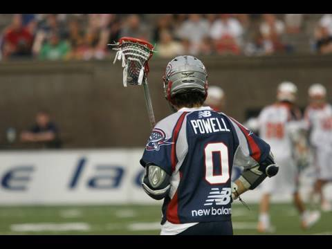Mikey Powell in MLL Freestyle Shootout