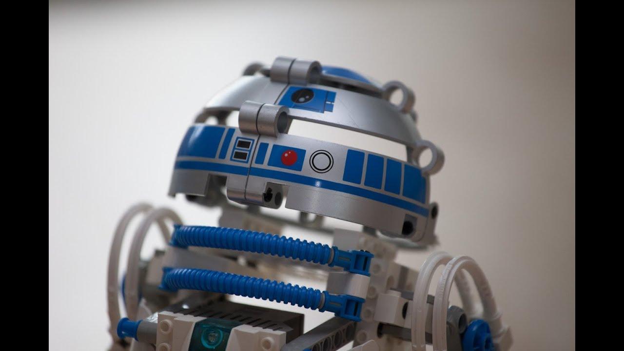 Lego star wars r2d2 droid developer kit mindstorms programm 1 youtube - Lego starwars r2d2 ...