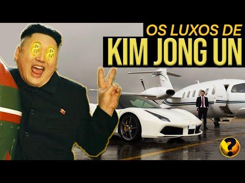 ESSA É A VIDA LUXUOSA DE KIM JONG UN, O LIDER SUPREMO Da Coreia Do Norte