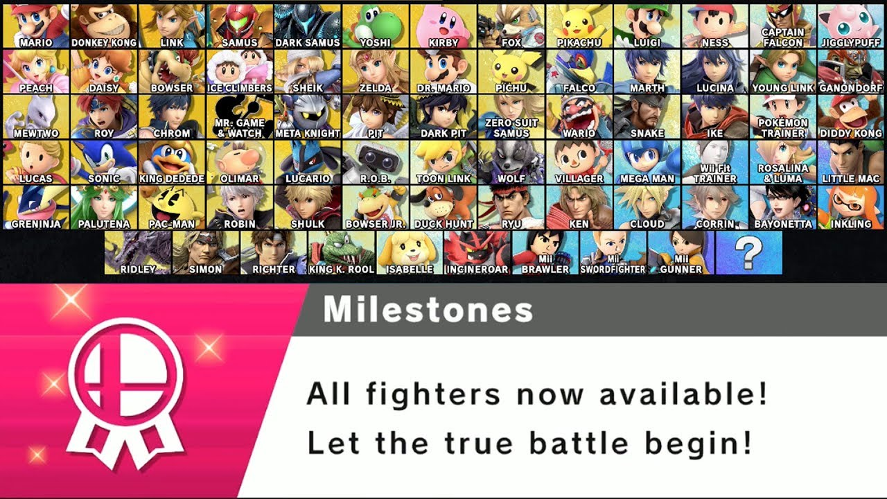 All Characters & Where To Find Them In World of Light | Super Smash Bros Ultimate