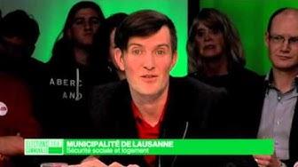 Politique du logement à Lausanne - David Payot - POP