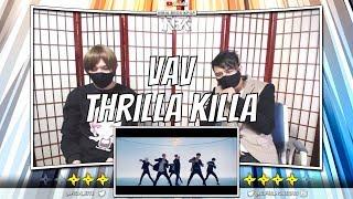 VAV - Thrilla Killa Official MV | [ NINJA BROS Reaction / Review ]