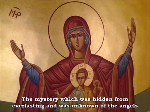 Resurrectional Theotokion (Tone 4)