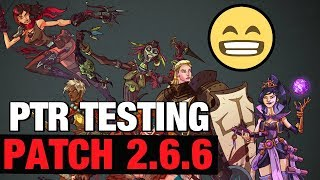 Patch 2.6.6 Builds WW, WOL, Archon, Condemn, Multishot Diablo 3 PTR