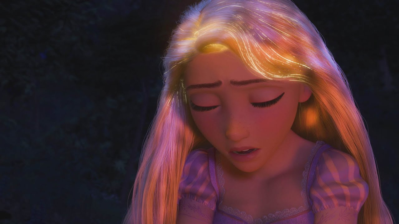 Uncategorized Tangled Rapunzel Hair tangled glowing hair youtube