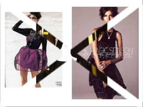 Fashion Model Teresa Moore